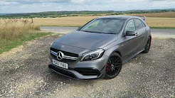 CRAZY LAUNCH CONTROL!! 376 BHP A45 AMG Review