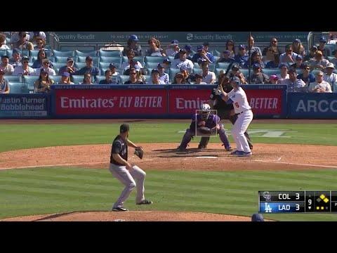 Dodgers vs Rockies   6/23/19