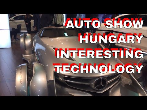Hungarian Auto Show - Interesting technologies