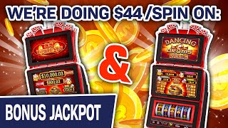 💸 Big $44 SPINS on 88 Fortunes AND Dancing Drums 🥁 BIG-BUCKS RAJA Is BACK