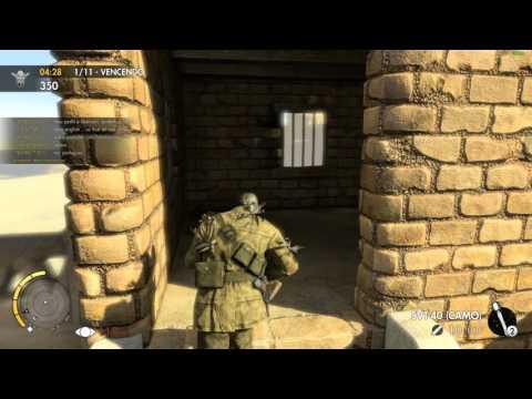O Coveiro - Sniper Elite 3 -  I was not using trickery - Server FDA