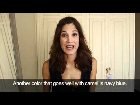 87d89d991c Cómo combinar el color camel   How to combine the color beige - YouTube