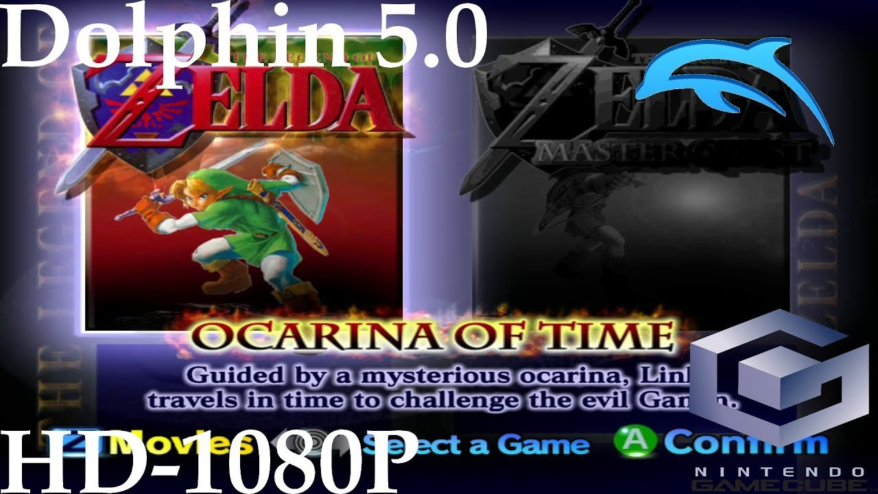 The Legend of Zelda: Ocarina of Time Master Quest - Dolphin