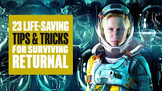 23 Tips and Tricks for Staying Alive in Returnal - Returnal PS5 Gameplay