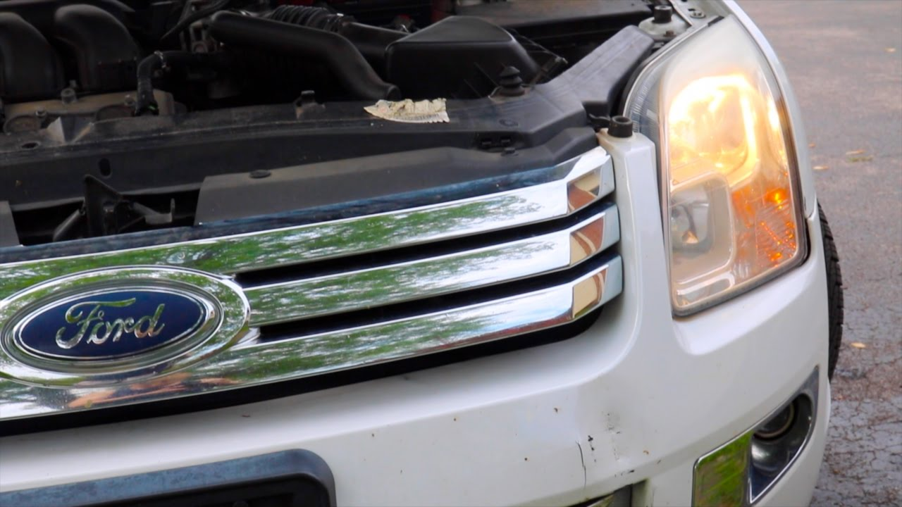 How-to: Replace Ford Fusion Headlight Bulbs (EASY)
