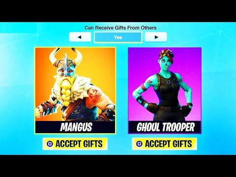 The *NEW* Season 5 FREE GIFTING UPDATE! | Fortnite: Battle Royale thumbnail
