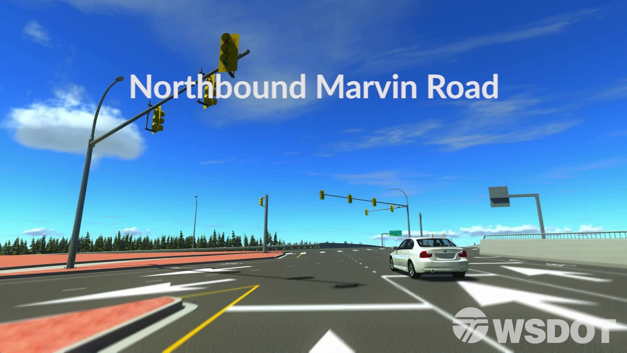 DDI Virtual Drive-Through - Northbound Marvin Road to southbound I-5
