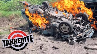 BLOWING UP CARS WITH TANNERITE