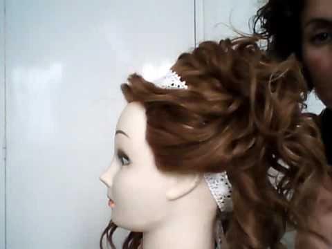 Cinta para hacer recogidos en el pelo
