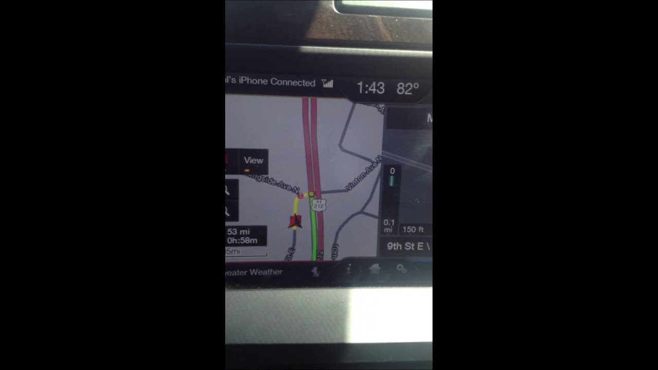 Ford Problems Sync Navigation