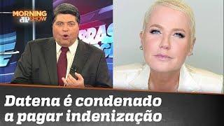 Xuxa X Datena: apresentador é condenado a pagar 20 mil reais em cadeiras de rodas