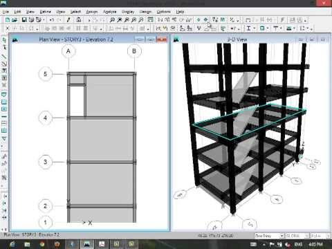 ETABS-Stair Modeling by Cefci Civil Engineering