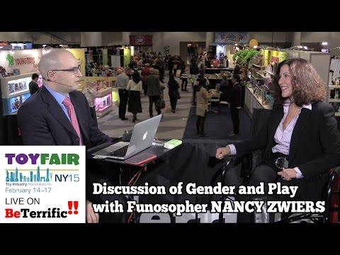 Toy Fair 2015: Nancy Zwiers - Discussion of the Role of Gender in Play