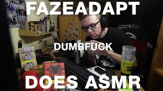 FAZE ADAPT DOES ASMR WHILE PLAYING FORTNITE (Really?)