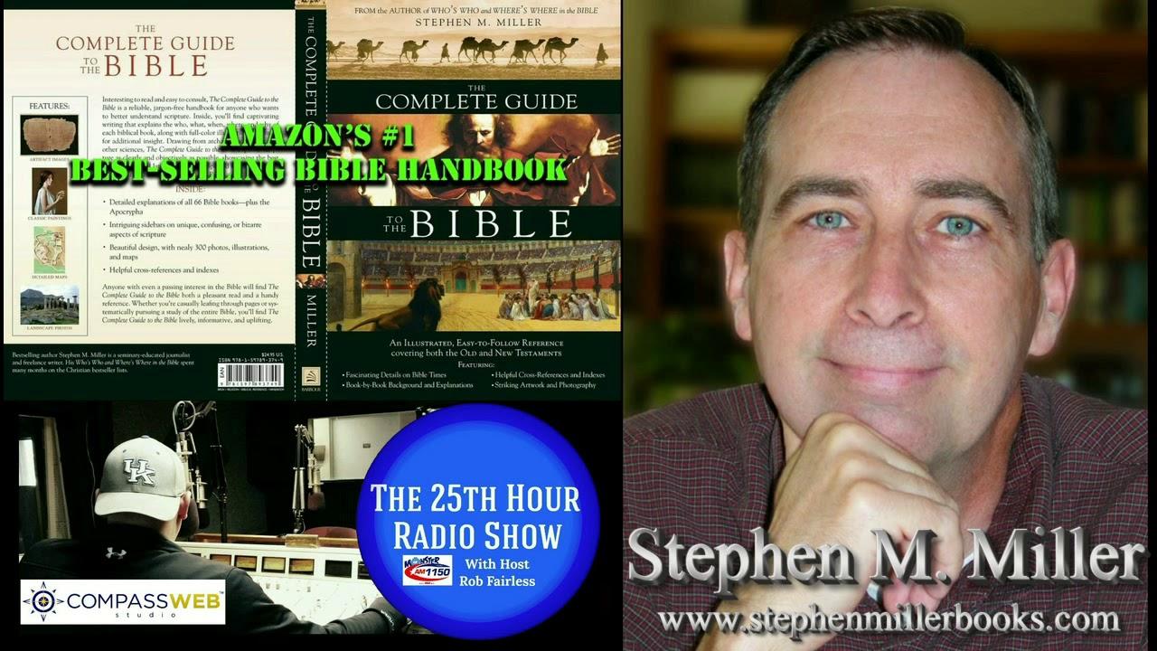 Stephen M Miller Award Winning Best Selling Christian Author Youtube