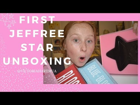 MY FIRST JEFREE STAR COSMETICS UNBOXING! thumbnail