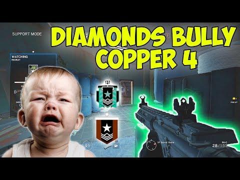 Copper 4 BULLIED by Diamonds - Rainbow Six Siege