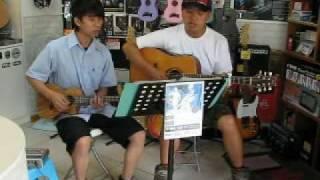 [POR樂器]7-ONE 路嘉欣 黑色天空  吉他與烏克麗麗版本