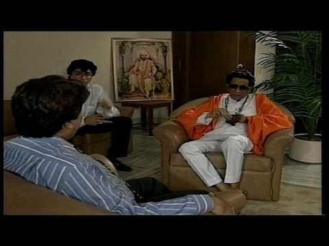 Rubaru: old interview Bal Thackeray with Rajeev Shukla (part4)