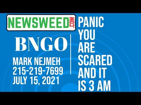BNGO Bionano Genomics Panic