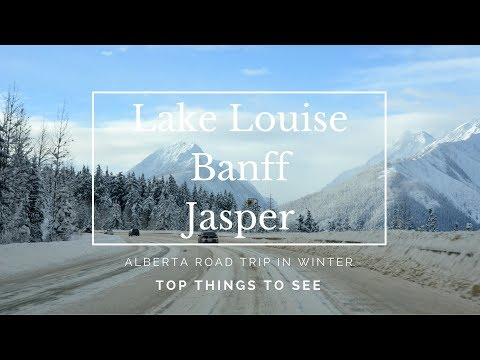 Lake Louise, Banff & Jasper I Alberta, Canada in winter I Travel vlog