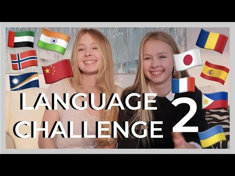 LANGUAGE CHALLENGE p.2 - izaandelle
