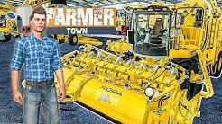 LS19 FarmerTown #41: Kauf auf der Landmaschinen MESSE und LOS-Gewinn! | LANDWIRTSCHAFTS SIMULATOR 19