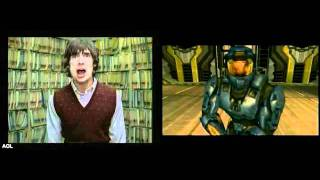 Move Along by The All American Rejects - Halo 2 Music Video vs Original