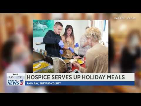 Hospice of Health First Serves Up Holiday Meals thumbnail