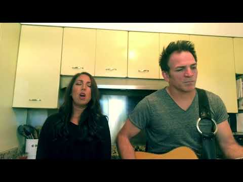 Cyndi Lauper-Time After Time (Acoustic Cover) KITCHEN CONCERTS By Vanessa Sudbury And Scott Sudbury