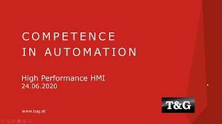 Webinar: HMI/SCADA - High Performance HMI