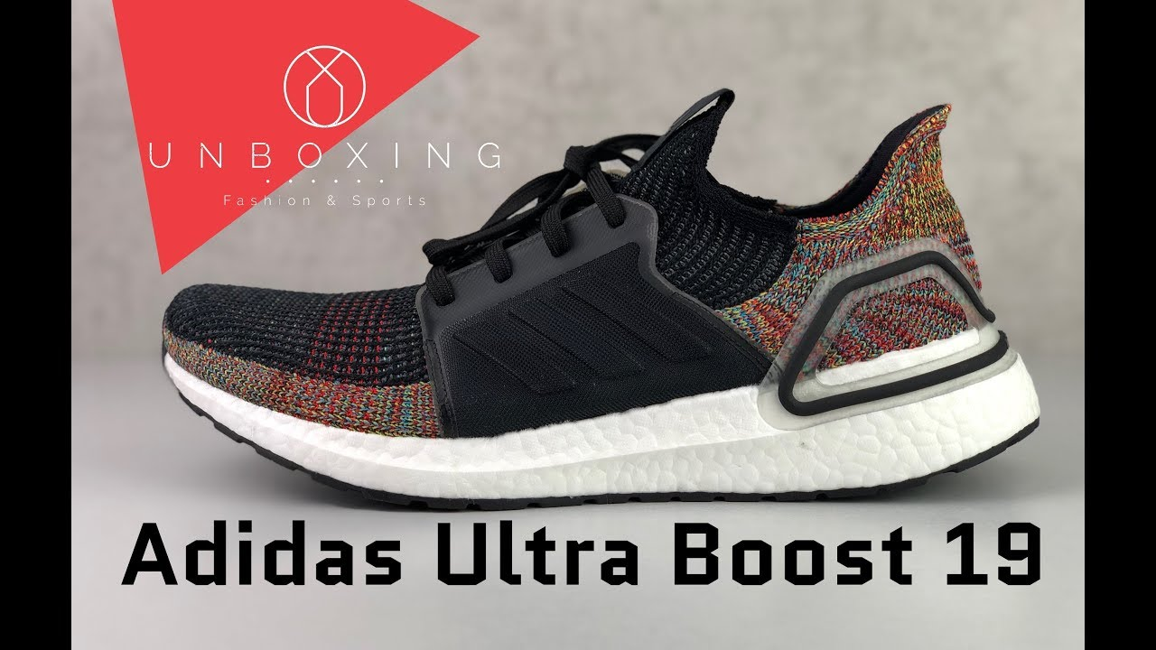 384b1b08590 Adidas Ultra Boost 19  Grey Six CoreBlack ShockYellow