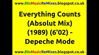 Everything Counts (Absolut Mix) - Depeche Mode | 80s Dance Music | 80s Club Mixes | 80s Club Music