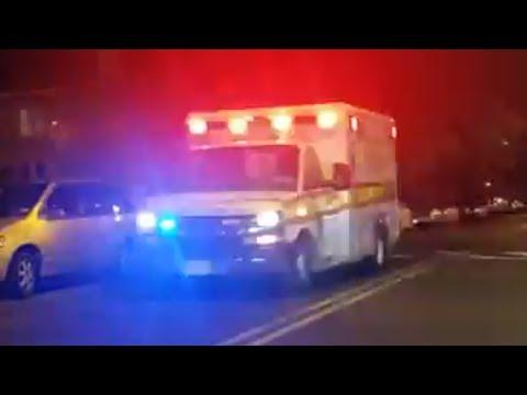 University Hospital Of Newark E.M.S Units Responding Summer Ave 6-29-17