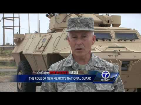 Saluting New Mexico Heroes: The Role of New Mexico's National Guard