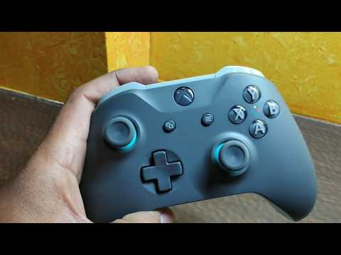 Unboxing Of Xbox One Controller(blue And Grey)