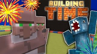 Minecraft Xbox - FIREWORKS DISPLAY! - Building Time! [#7]