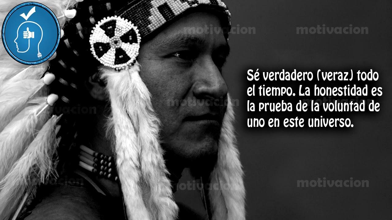 Frases De Academia Para Foto: Grandes Frases De Indígenas Americanos