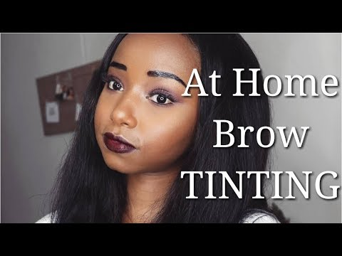 GRWM: Tinting My Eyebrows + Giveaway Winners | Ft. Beauty Forever Hair | Wabosha Maxine