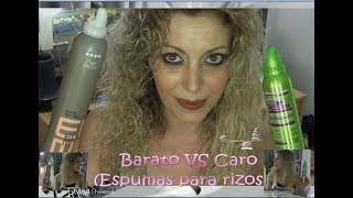 BARATO VS CARO: ESPUMAS RIZOS
