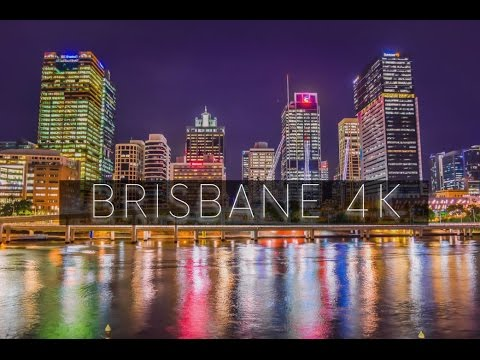 BRISBANE AT NIGHT - 4K UHD Time lapse
