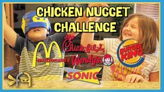 CHICKEN NUGGET CHALLENGE
