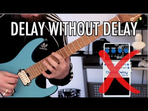 How To Create A Delay Effect Without Using Delay