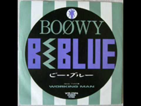 Boowy b blue cover youtube for B b it