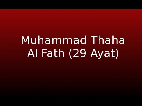 Muhammad Thaha -  Al Fath 29 Ayat