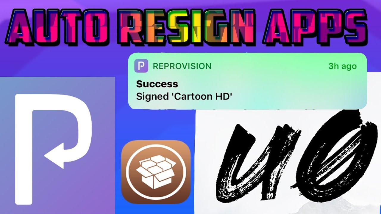 HOW TO AUTO RESIGN APPS ON IOS 12/SIGN ANY IPA FOR IOS 12/CYDIA IMPACTOR  FOR IOS ?