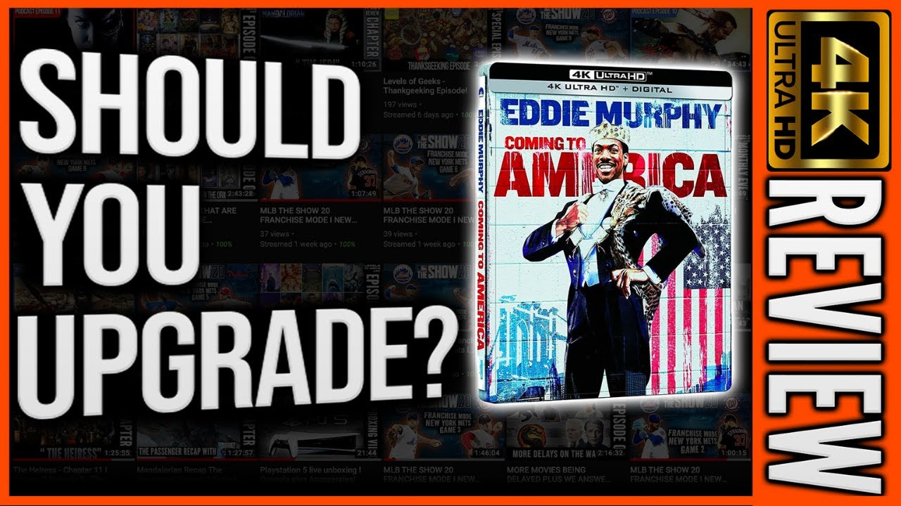 Download Should You Upgrade Coming To America (1988)?