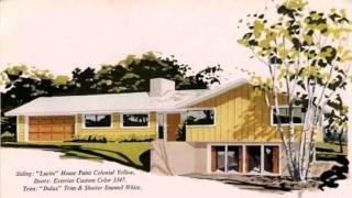 Ranch Style House 1950s