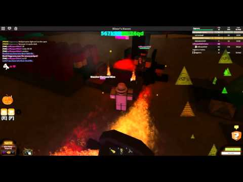 [ROBLOX: Miner's Haven] - Fire Crystal Industrial Mine Review