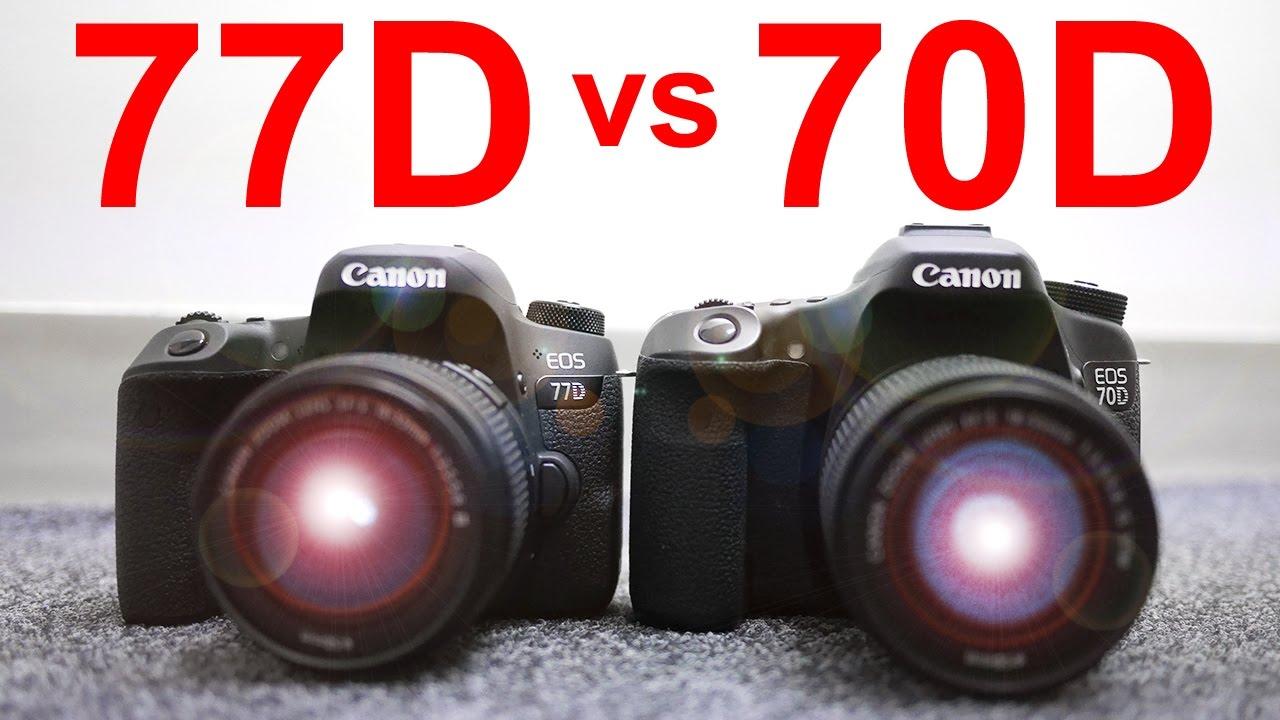 Canon 77d vs Canon 70d - Best DSLR Under $1000?